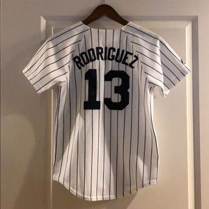 Yankees Rodriguez authentic jersey